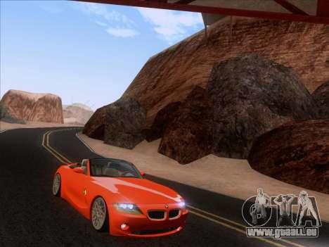 BMW Z4 Edit pour GTA San Andreas