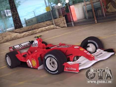 Ferrari F1 2005 für GTA San Andreas