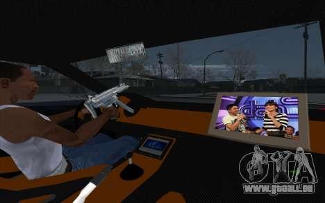 Tuned Elegy pour GTA San Andreas vue arrière