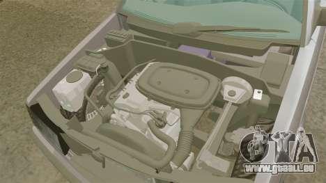 Mercedes-Benz E190 W201 für GTA 4 Innenansicht
