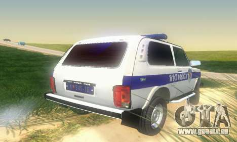 Lada Niva Patrola pour GTA San Andreas vue de droite