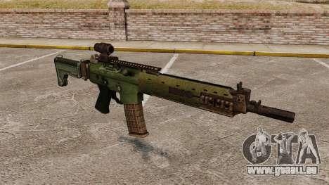 Automatische Karabiner Ak5C für GTA 4