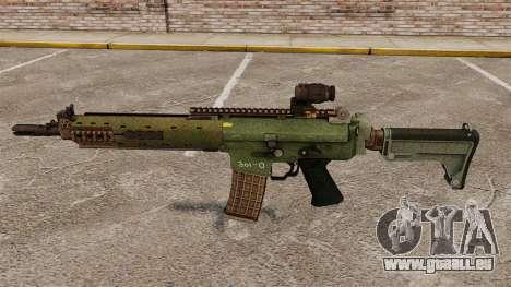 Automatische Karabiner Ak5C für GTA 4 dritte Screenshot