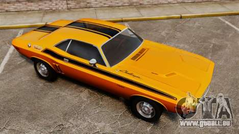 Dodge Challenger 1971 v2 pour GTA 4 Salon