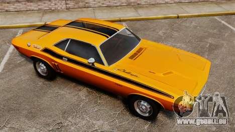 Dodge Challenger 1971 v2 pour GTA 4 Salon