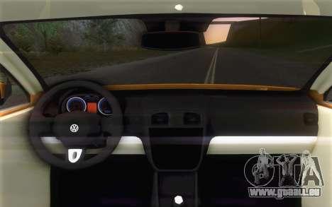 Volkswagen Vento 2012 für GTA San Andreas rechten Ansicht