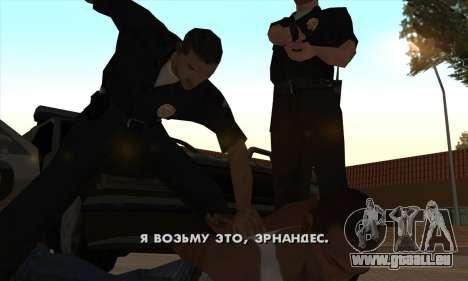 Crack usé (FARGUS) pour GTA San Andreas deuxième écran