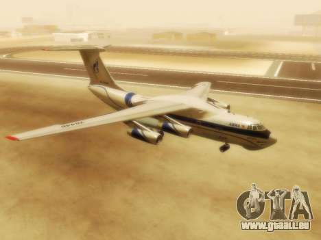 Gazpromavia il-76td pour GTA San Andreas