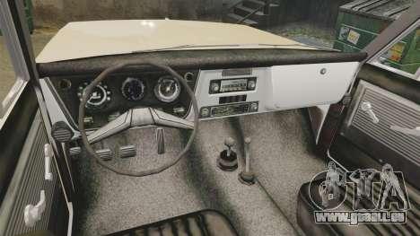Chevrolet Blazer K5 1972 pour GTA 4 Vue arrière