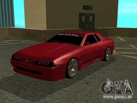 Elegy TDK-The Drift Kings für GTA San Andreas linke Ansicht