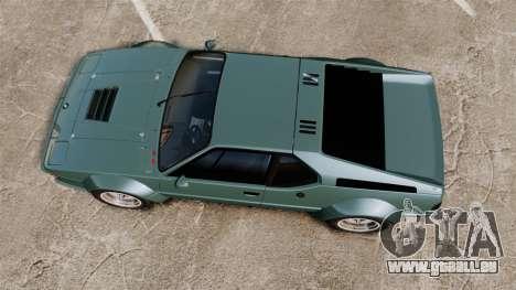 BMW M1 [EPM] für GTA 4 rechte Ansicht