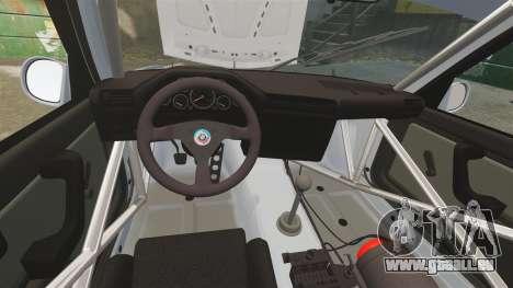 BMW M3 1990 Race version pour GTA 4 est un côté
