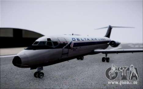 McDonnel Douglas DC-9-10 pour GTA San Andreas vue intérieure