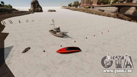 Eau gelée pour GTA 4