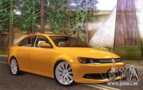 Volkswagen Vento 2012 pour GTA San Andreas laissé vue