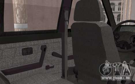 FSO Polonez Caro 1.4 GLI 16V pour GTA San Andreas vue arrière