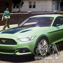 Ford Mustang GT 2015 für GTA 4