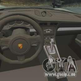 Porsche 911 Turbo 2014 [EPM] Ghosts pour GTA 4 est une vue de l'intérieur