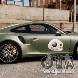 Porsche 911 Turbo 2014 [EPM] Ghosts pour GTA 4 est une gauche