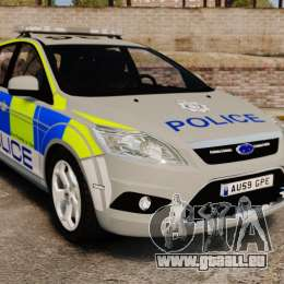 Ford Focus Estate Norfolk Constabulary [ELS] pour GTA 4