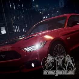Ford Mustang GT 2015 für GTA 4 Unteransicht