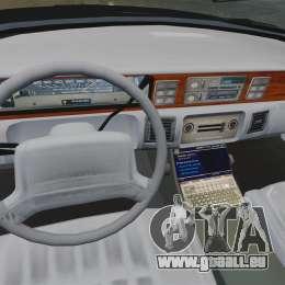 Chevrolet Caprice Police 1991 v2.0 N.o.o.s.e pour GTA 4 est un côté
