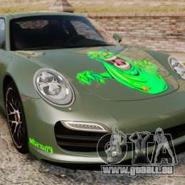Porsche 911 Turbo 2014 [EPM] Ghosts pour GTA 4