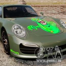 Porsche 911 Turbo 2014 [EPM] Ghosts pour GTA 4