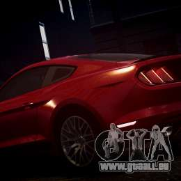 Ford Mustang GT 2015 pour GTA 4 Salon