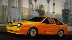 Toyota Corolla GT-S AE86 1985 pour GTA San Andreas