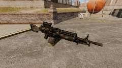 FN Mk 46 leichtes Maschinengewehr