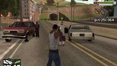 C-HUD by Stealth Sniper für GTA San Andreas