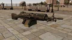 Die M249 Maschinengewehr