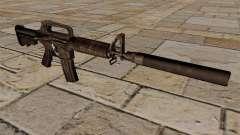 SMG M4 carabine avec silencieux