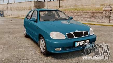 Daewoo Lanos PL 2001 pour GTA 4