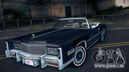 Cadillac Eldorado 1978 Convertible pour GTA San Andreas