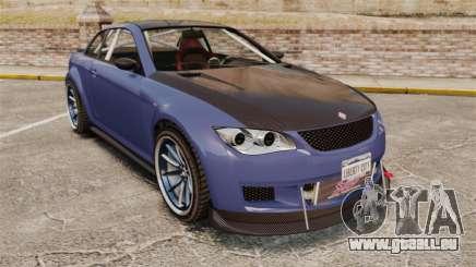 GTA V Sentinel XS Street Tuned Edit pour GTA 4