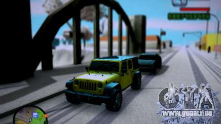 Jeep Wrangler Unlimited 2007 pour GTA San Andreas