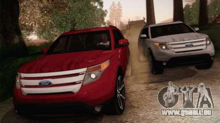 Ford Explorer 2013 für GTA San Andreas
