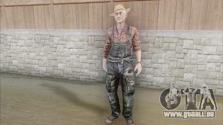 Agriculteur pour GTA San Andreas