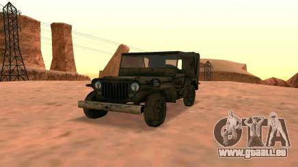 Ju2 v Willys MB pour GTA San Andreas