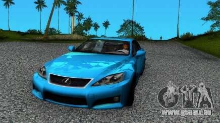 Lexus IS-F pour GTA Vice City