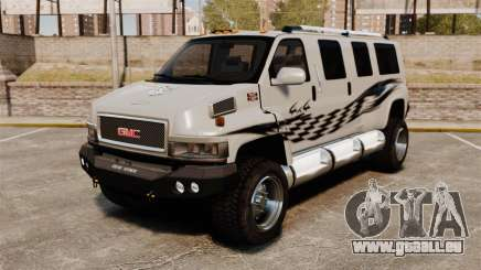 GMC Tough Guy pour GTA 4