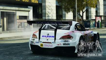 BMW Z4 GT3 2010 pour GTA 4