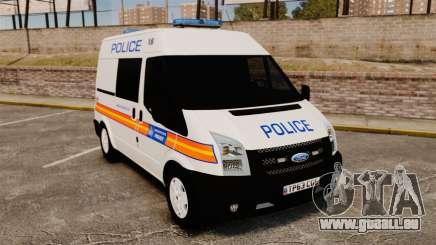 Ford Transit 2013 Police [ELS] für GTA 4