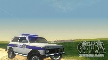 Lada Niva Patrola pour GTA San Andreas