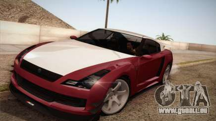 Elegy RH8 from GTA V pour GTA San Andreas