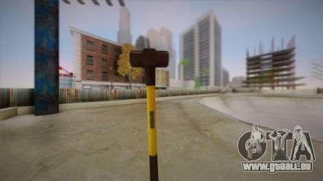 Sledge Hammer für GTA San Andreas zweiten Screenshot