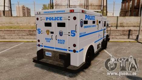 Enforcer LCPD [ELS] für GTA 4 hinten links Ansicht
