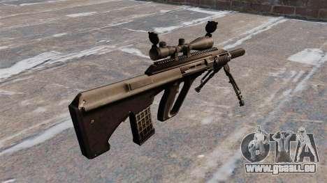 Selbstladegewehr Steyr AUG3 für GTA 4 Sekunden Bildschirm